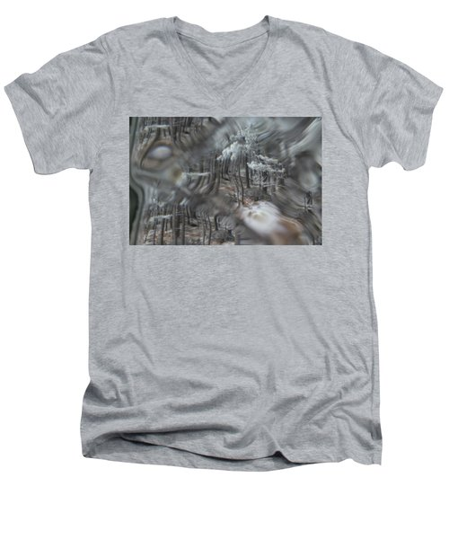 Recital For The Cold And The Eyes - Fourth Movement Men's V-Neck T-Shirt