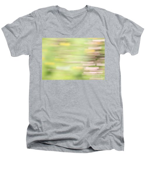 Rectangulism - S04a Men's V-Neck T-Shirt by Variance Collections