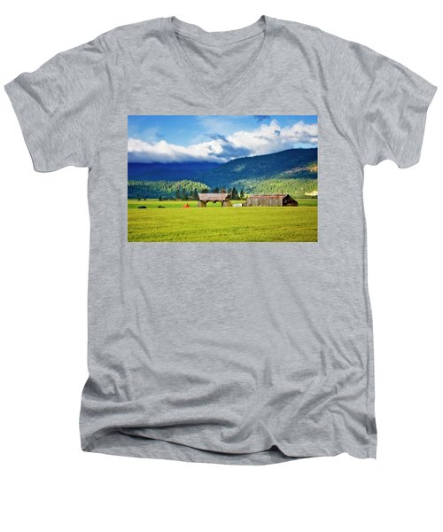 Men's V-Neck T-Shirt featuring the photograph Recycled by Albert Seger
