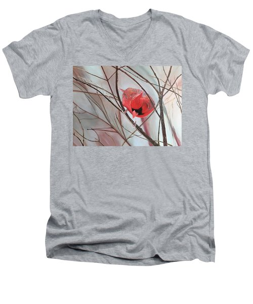 Red Alert Men's V-Neck T-Shirt