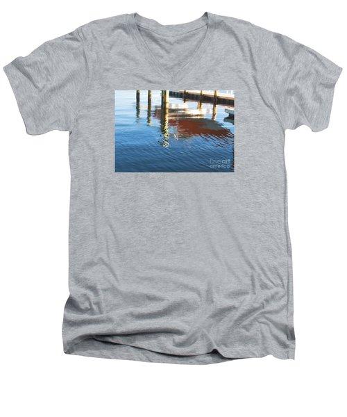Red Boat Men's V-Neck T-Shirt