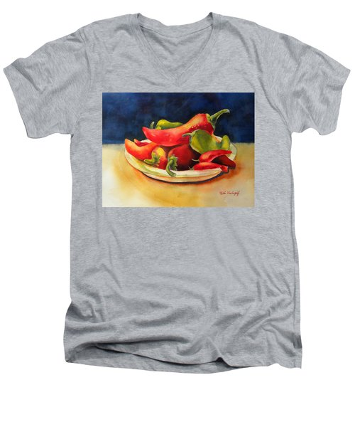 Red Hot Chile Peppers Men's V-Neck T-Shirt