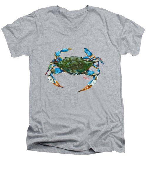 Red Hot Crab Men's V-Neck T-Shirt