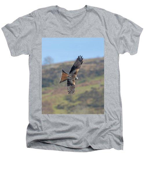 Red Kite Men's V-Neck T-Shirt