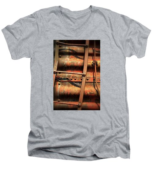 Red Ladder Men's V-Neck T-Shirt