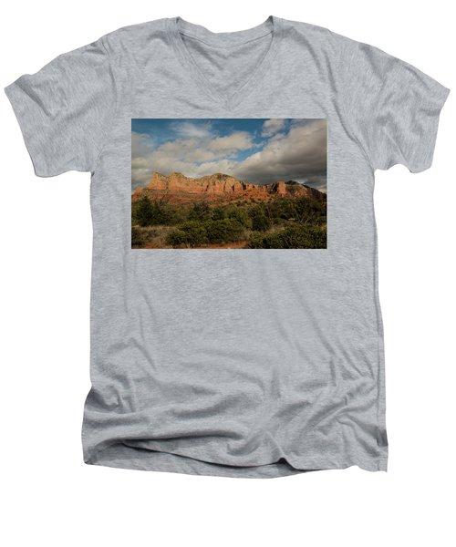 Red Rock Country Sedona Arizona 3 Men's V-Neck T-Shirt