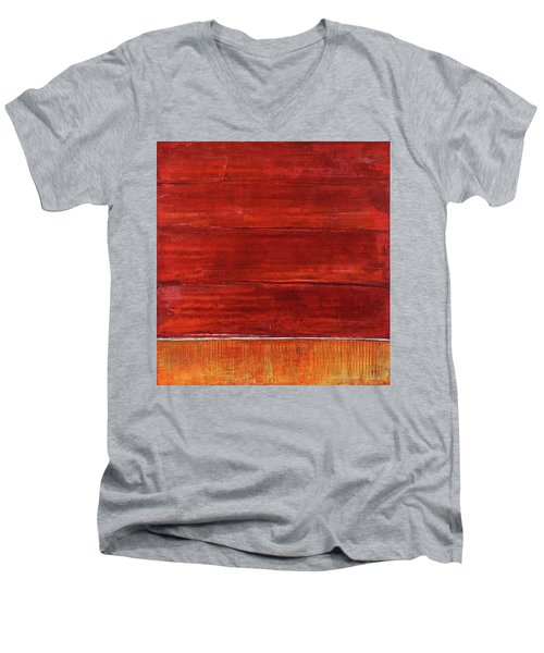 Art Print Abstract 50 Men's V-Neck T-Shirt