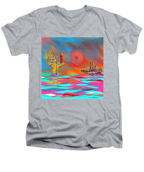 Red Sea Men's V-Neck T-Shirt