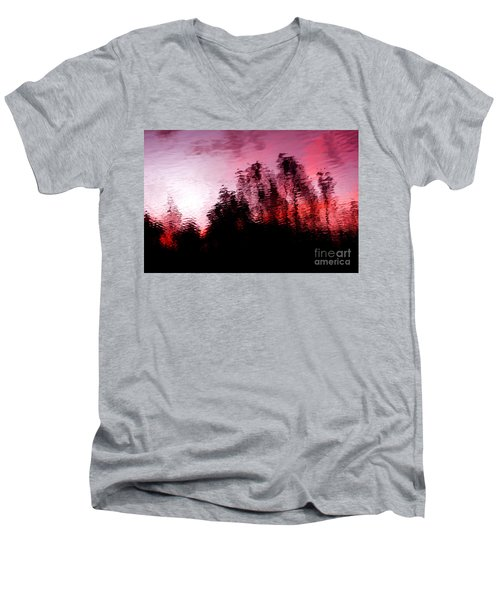 Red Waters Men's V-Neck T-Shirt