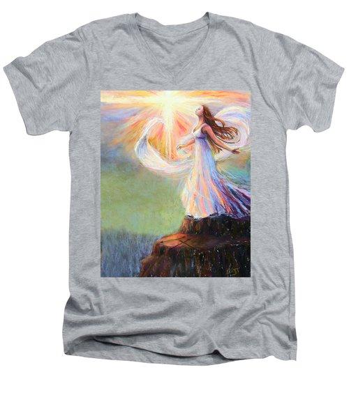 Redeemed Men's V-Neck T-Shirt
