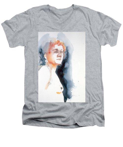 Redhead #1 Men's V-Neck T-Shirt