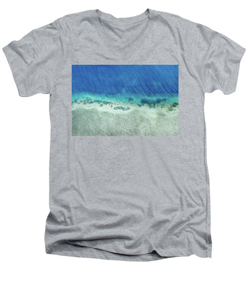 Reef Barrier Men's V-Neck T-Shirt