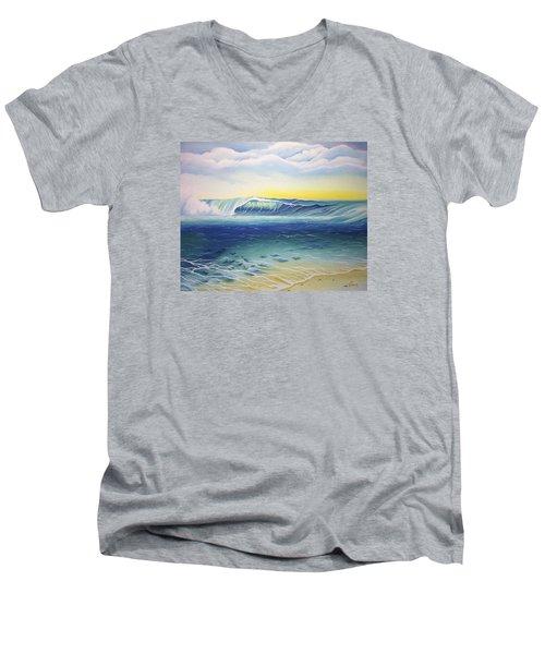 Reef Bowl Men's V-Neck T-Shirt