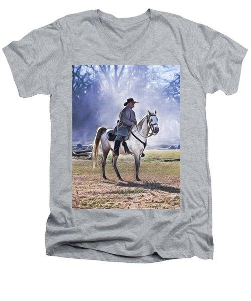 Reenactment General Men's V-Neck T-Shirt