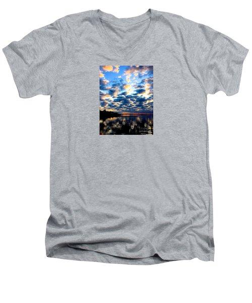 Refelections  Men's V-Neck T-Shirt