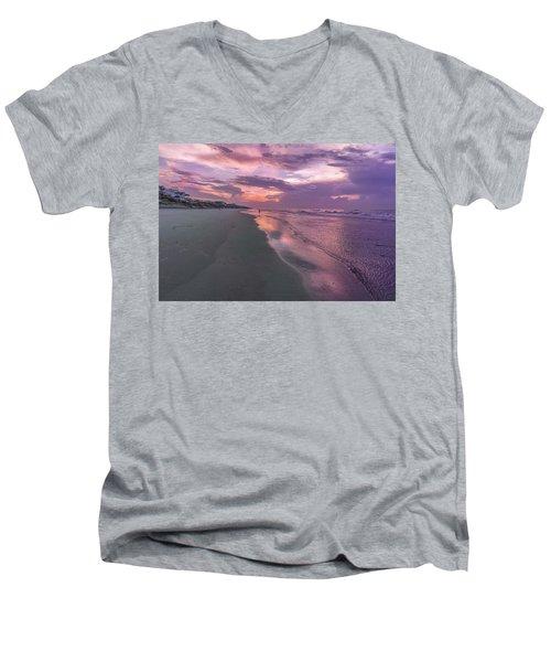 Reflection Of The Dawn Men's V-Neck T-Shirt