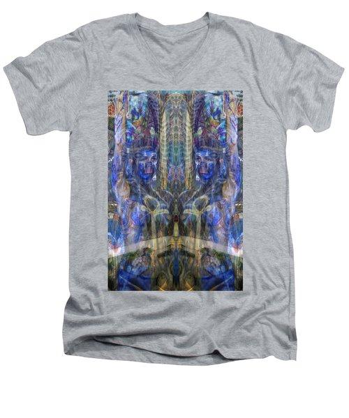 Reflection Refraction Men's V-Neck T-Shirt