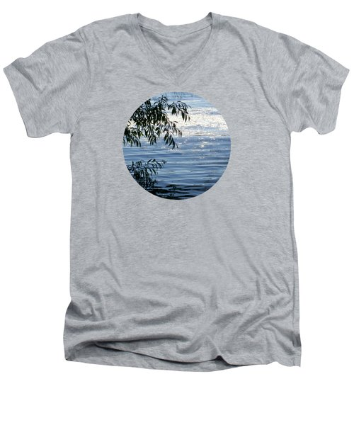 Reflections On The Lake Men's V-Neck T-Shirt