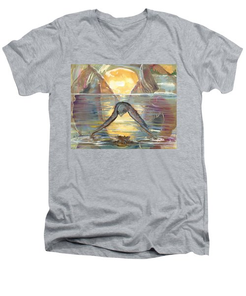 Reflections Swallowed Men's V-Neck T-Shirt