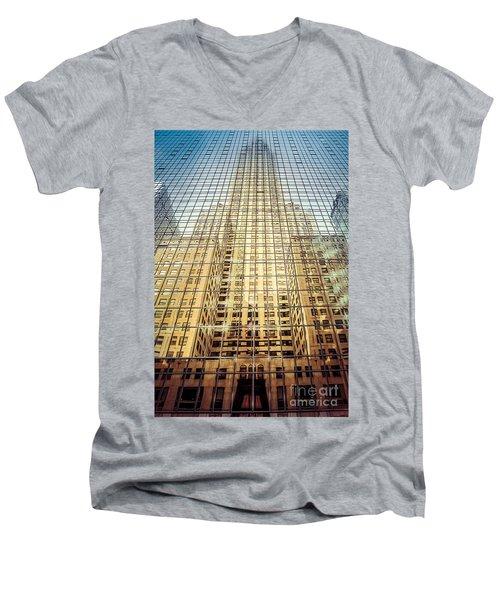Reflective Empire Men's V-Neck T-Shirt