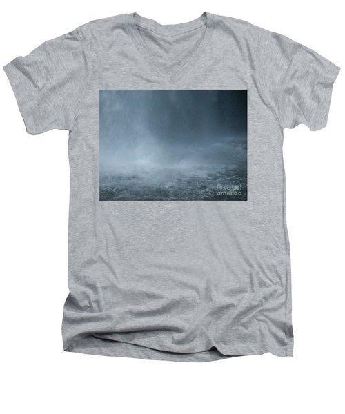 Refreshing Men's V-Neck T-Shirt by Shari Nees