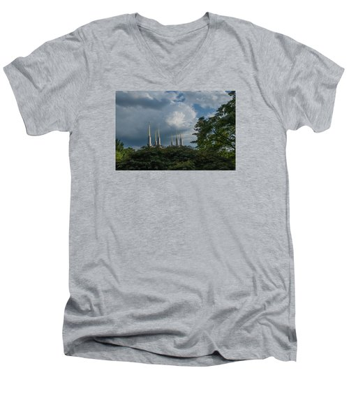 Regal Spires Men's V-Neck T-Shirt