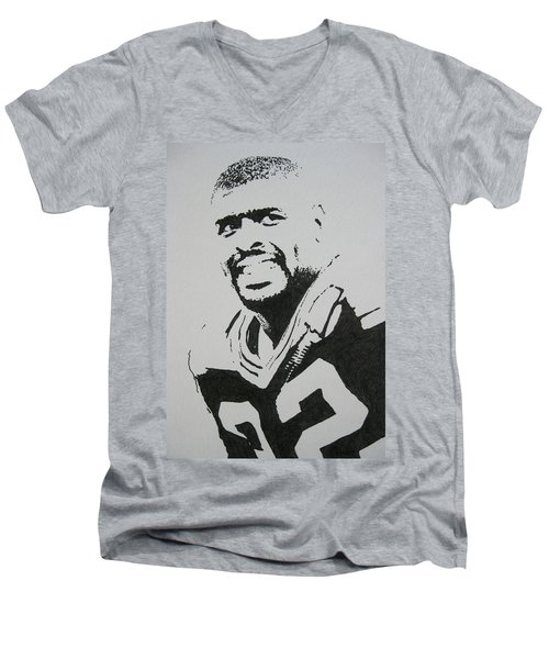 Reggie Men's V-Neck T-Shirt