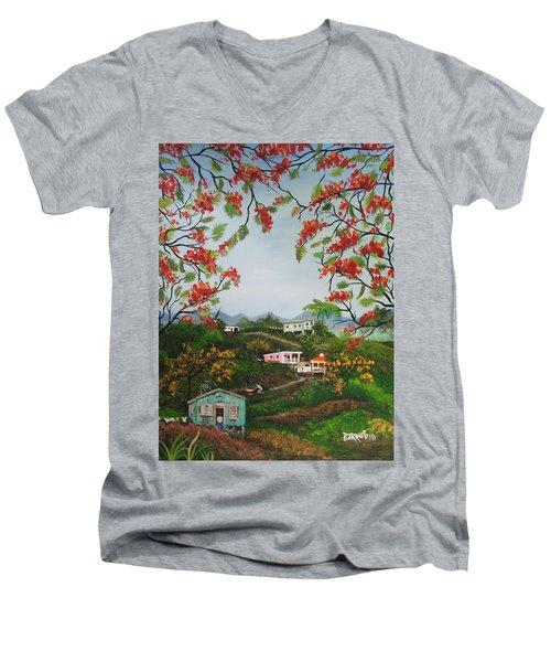Regresare Men's V-Neck T-Shirt