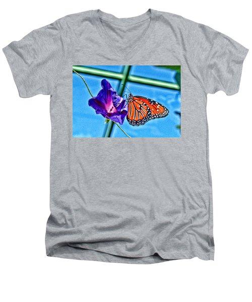 Reigning Monarch Men's V-Neck T-Shirt