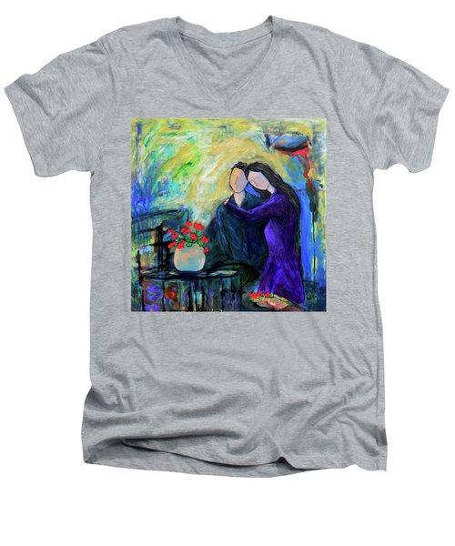 Relationship Men's V-Neck T-Shirt