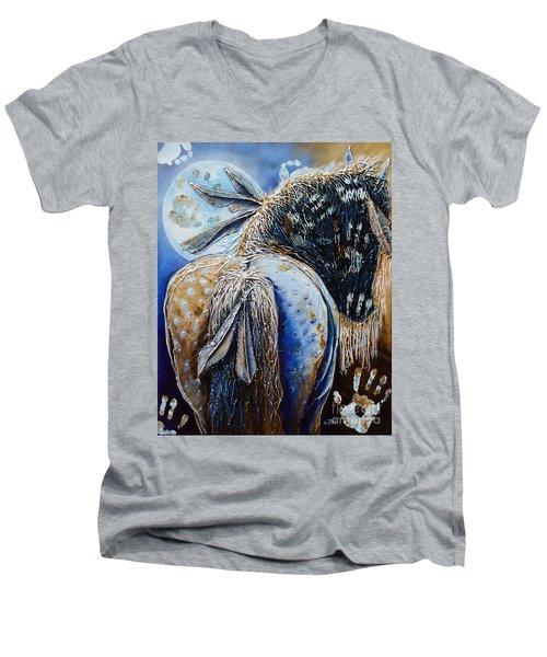 Release Of Inner Spirit Men's V-Neck T-Shirt