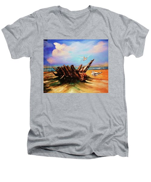 Relic Washed Ashore Men's V-Neck T-Shirt