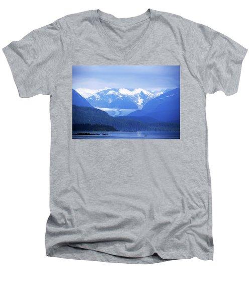 Remains Of A Glacier Men's V-Neck T-Shirt