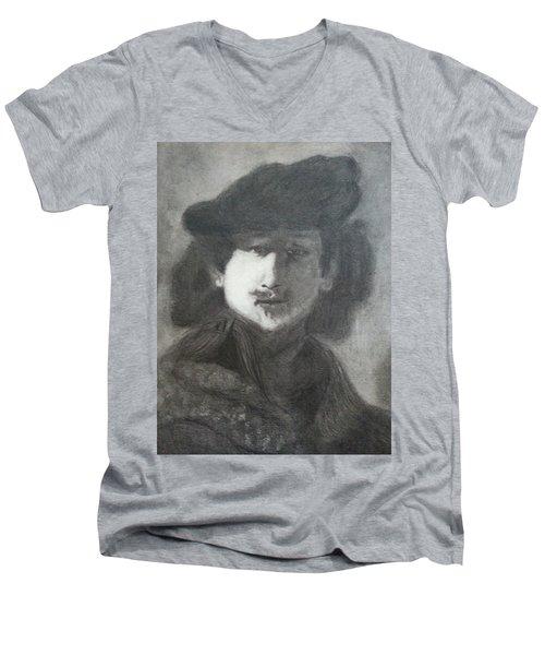 Rembrandt Men's V-Neck T-Shirt