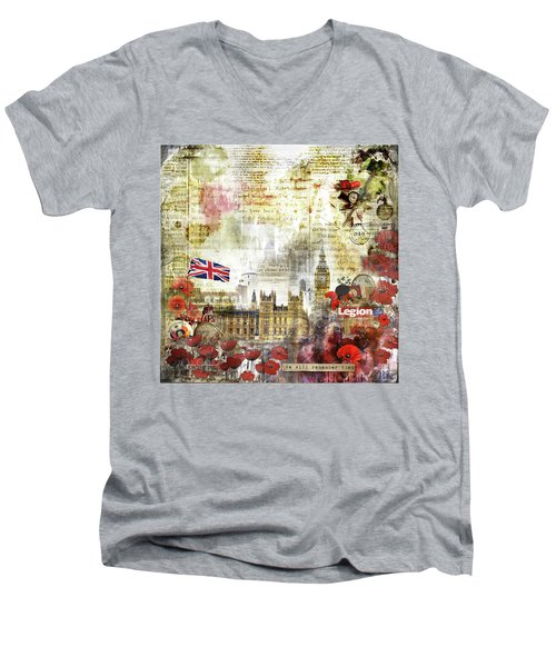 Remember Men's V-Neck T-Shirt
