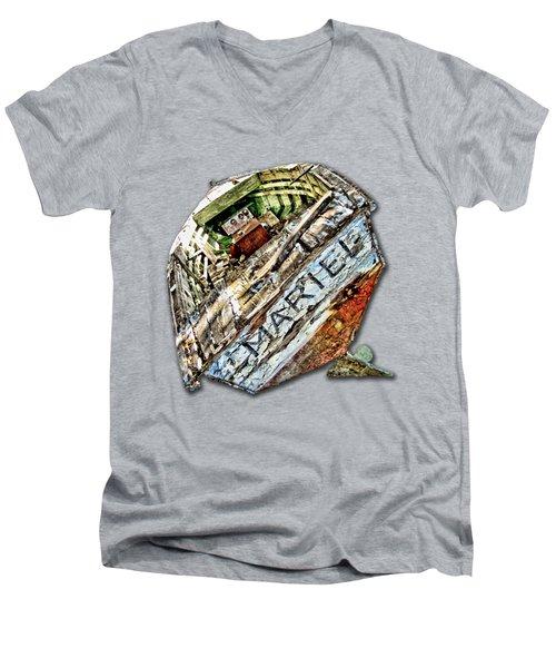 Remember The Mariel Men's V-Neck T-Shirt by Bob Slitzan