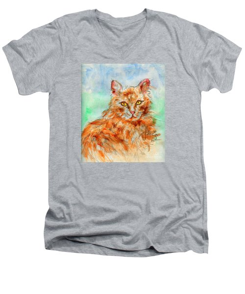 Remembering Butterscotch Men's V-Neck T-Shirt