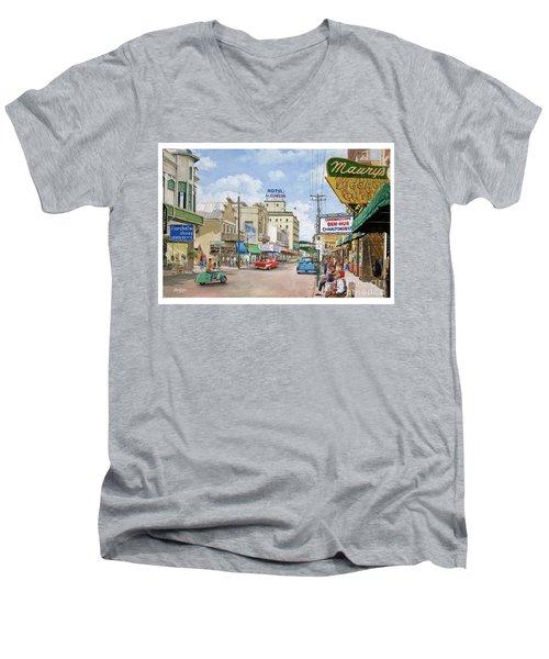 Remembering Duval St. Men's V-Neck T-Shirt