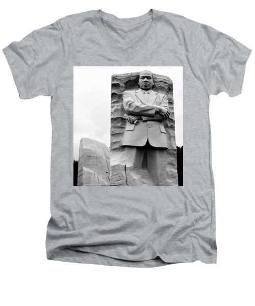 Remembering Mr. King Men's V-Neck T-Shirt