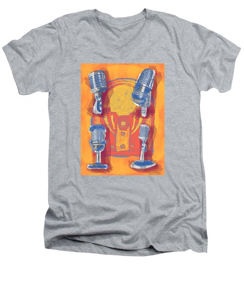 Remembering Radio Men's V-Neck T-Shirt