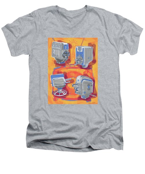 Remembering Television Men's V-Neck T-Shirt