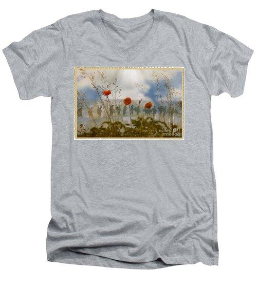 Remembrance Men's V-Neck T-Shirt