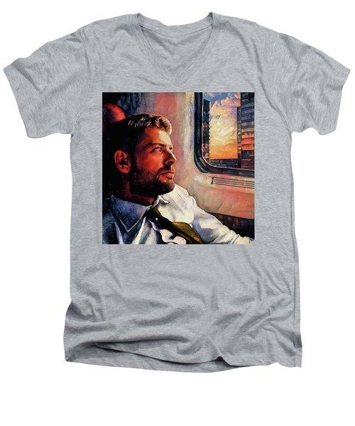 Reminiscing  Men's V-Neck T-Shirt