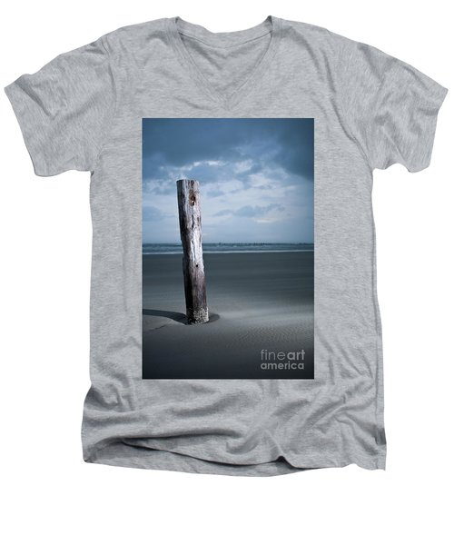 Remnant Of The Past On Outer Banks Men's V-Neck T-Shirt