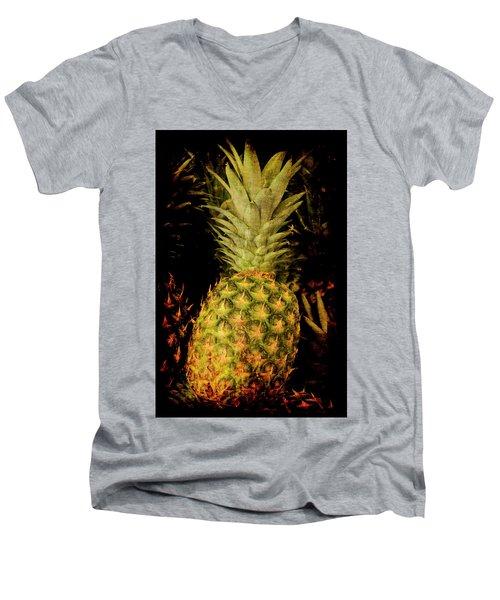 Renaissance Pineapple Men's V-Neck T-Shirt