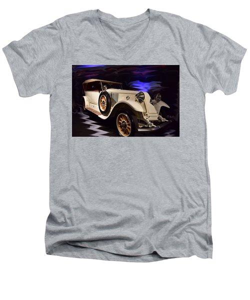Renault 40cv Men's V-Neck T-Shirt