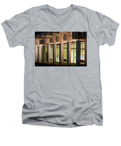 Renzo Piano Building Kimball Museum Men's V-Neck T-Shirt