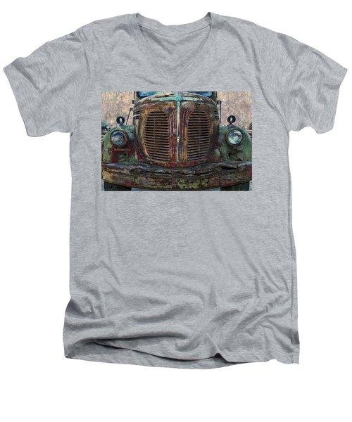 Reo Speedwagon - 2 Men's V-Neck T-Shirt by Ed Hall