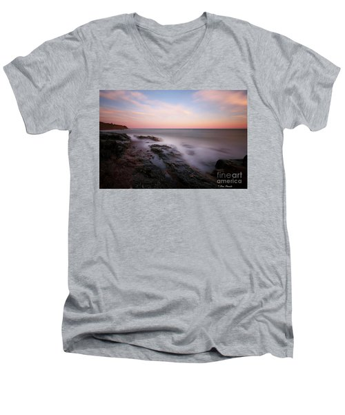 Repos. Men's V-Neck T-Shirt
