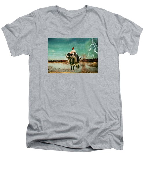 Rescue Men's V-Neck T-Shirt